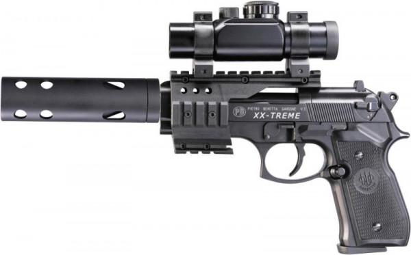BERETTA - M92 XX-TREME black 4,5mm - 8 Schuß