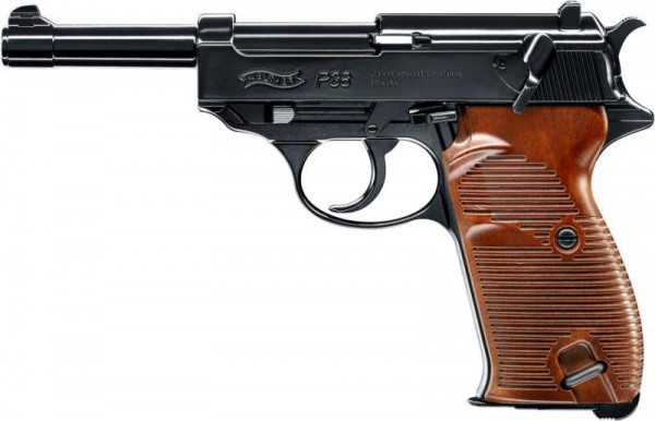 WALTHER - P38 BB 4,5mm - 20Schuß - 3Joule