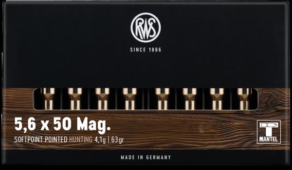 RWS - 5,6x50 Mag TMS 4,1/63 !!!! ohne R  20er