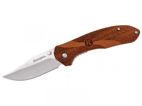REMINGTON - Heritage Einhandhandmesser Holzgriff , Stahl 420J2