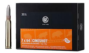 RWS - 7X64 CINESHOT 9,0/139 30er