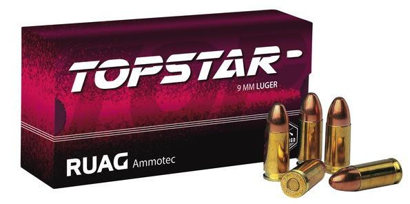 GECO - 9mm Para VM 8,0/123 Topstar 9x19Luger
