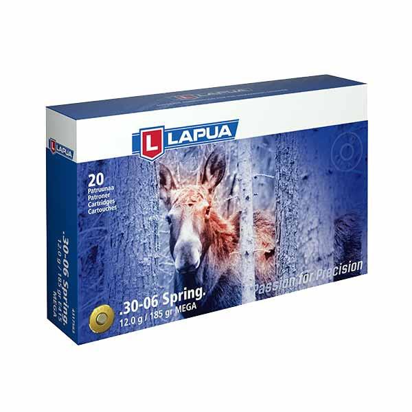 LAPUA - 30-06 WIN MEGA 12/185 20er