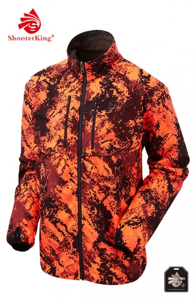 ShooterKing - Digitex Softshell Blaze Camo Wendejacke