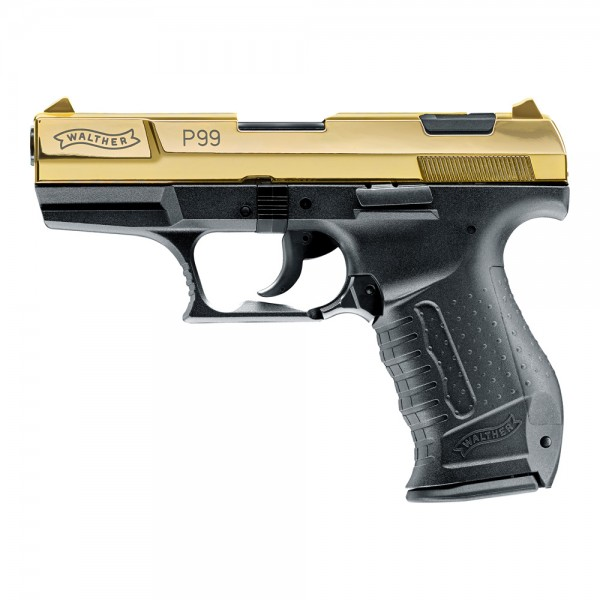 WALTHER - P99 Gold Edition 9mm P.A.K. 15Schuss