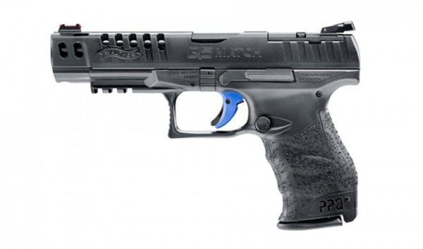 WALTHER - Q5 MATCH Champion, 5'' AM 9mmLuger