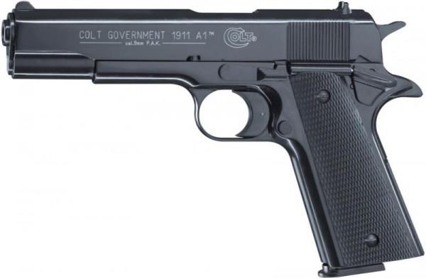 COLT - Government 1911 blue 9mm P.A.K.