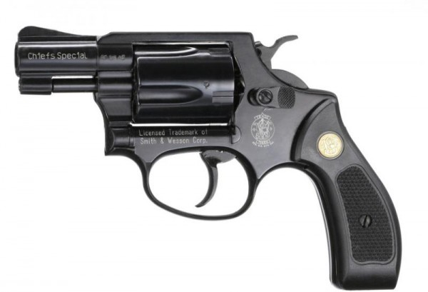 SMITH & WESSON - 36 Chiefs Special blue 9mm R. K.