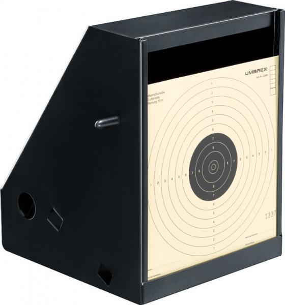 PERFEKTA - Kugelfang - Airgun Pellet Trap black <7,5 Joules