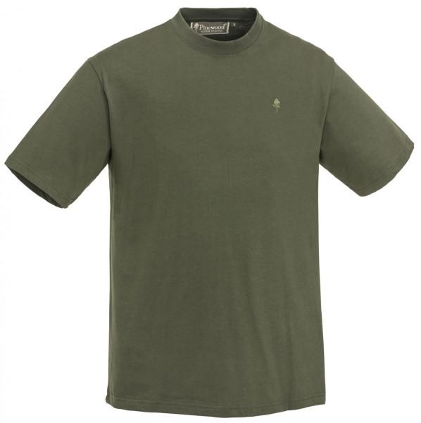 PINEWOOD - T-Shirt 1/2  - 3er-Pack grün/braun/khaki
