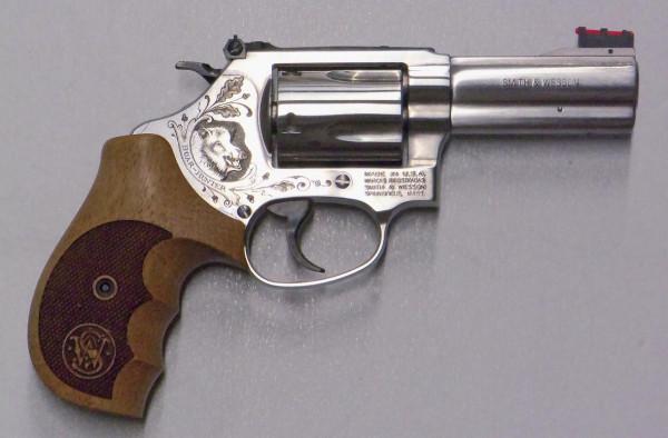SMITH & WESSON - 60 Boar Hunter 3 Gravur .357Magnum